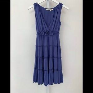 STUDIO M BLUE SLEEVELESS DRESS SIZE SMALL NWOTS!